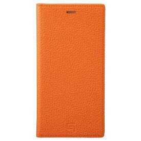 坂本ラヂヲ Shrunken-calf Leather Book for iPhone 11 Pro Max 6.5インチ ORG GBCSC-IP03ORG