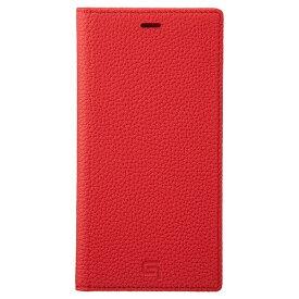 坂本ラヂヲ Shrunken-calf Leather Book for iPhone 11 Pro Max 6.5インチ RED GBCSC-IP03RED