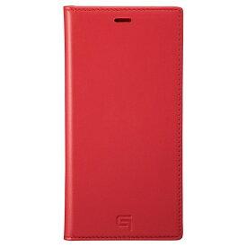 坂本ラヂヲ Genuine Leather Book Case for iPhone 11 Pro Max 6.5インチ RED GBCIG-IP03RED