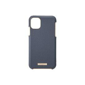坂本ラヂヲ Shrink PU Leather Shell Case for iPhone 11 Pro Max 6.5インチ NVY CSCLS-IP03NVY