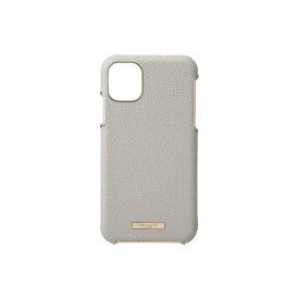 坂本ラヂヲ Shrink PU Leather Shell Case for iPhone 11 Pro Max 6.5インチ GRG CSCLS-IP03GRG