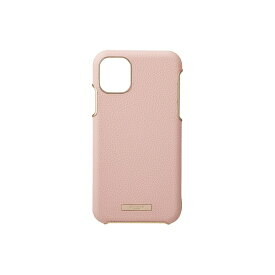 坂本ラヂヲ Shrink PU Leather Shell Case for iPhone 11 Pro Max 6.5インチ PNK CSCLS-IP03PNK