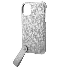坂本ラヂヲ TAIL PU Leather Shell Case for iPhone 11 6.1インチ SLV CSCTL-IP02SLV