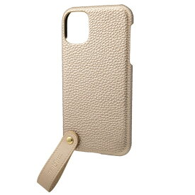 坂本ラヂヲ TAIL PU Leather Shell Case for iPhone 11 6.1インチ GLD CSCTL-IP02GLD