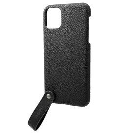 坂本ラヂヲ TAIL PU Leather Shell Case for iPhone 11 Pro Max 6.5インチ BLK CSCTL-IP03BLK