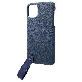 坂本ラヂヲ TAIL PU Leather Shell Case for iPhone 11 Pro Max 6.5インチ NVY CSCTL-IP03NVY