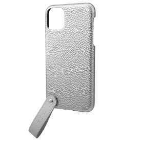 坂本ラヂヲ TAIL PU Leather Shell Case for iPhone 11 Pro Max 6.5インチ SLV CSCTL-IP03SLV