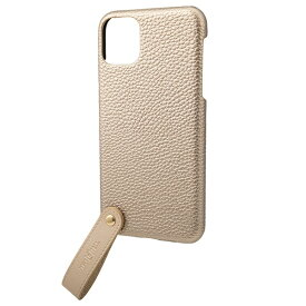 坂本ラヂヲ TAIL PU Leather Shell Case for iPhone 11 Pro Max 6.5インチ GLD CSCTL-IP03GLD