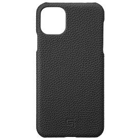 坂本ラヂヲ Shrunken-calf Leather Shell for iPhone 11 Pro Max 6.5インチ BLK GSCSC-IP03BLK