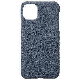 坂本ラヂヲ Shrunken-calf Leather Shell for iPhone 11 Pro Max 6.5インチ NVY GSCSC-IP03NVY