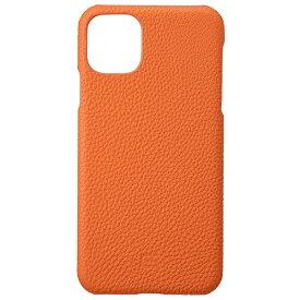 坂本ラヂヲ Shrunken-calf Leather Shell for iPhone 11 Pro Max 6.5インチ ORG GSCSC-IP03ORG