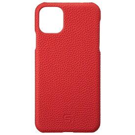 坂本ラヂヲ Shrunken-calf Leather Shell for iPhone 11 Pro Max 6.5インチ RED GSCSC-IP03RED