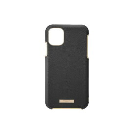 坂本ラヂヲ Shrink PU Leather Shell Case for iPhone 11 6.1インチ BLK CSCLS-IP02BLK