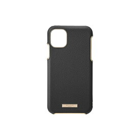 坂本ラヂヲ Shrink PU Leather Shell Case for iPhone 11 Pro Max 6.5インチ BLK CSCLS-IP03BLK