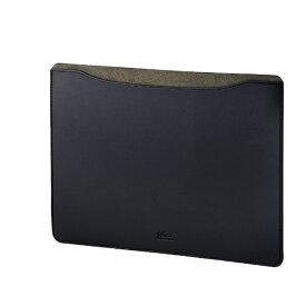 エレコム ELECOM MacBook 13インチ用 レザースリーブケース BM-IBSVM1913BK ブラック[BMIBSVM1913BK]