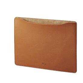 エレコム ELECOM MacBook 13インチ用 レザースリーブケース BM-IBSVM1913CA キャメル[BMIBSVM1913CA]
