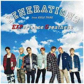 エイベックス・エンタテインメント Avex Entertainment GENERATIONS from EXILE TRIBE/ EXPerience Greatness【CD】