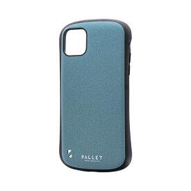 MSソリューションズ iPhone 11 Pro Max 6.5インチ PALLET STEEL 耐衝撃ケース ライトブルー LP-IL19PLSBL