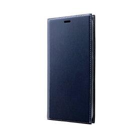 MSソリューションズ iPhone 11 Pro Max 6.5インチ PRIME 手帳型ケース ネイビー LP-IL19PRINV