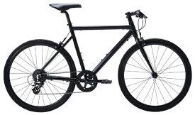 TERN ターン 650×28c クロスバイク Clutch クラッチ(マットブラック/480サイズ《適用身長:155〜165cm》8段変速) 【代金引換配送不可】