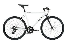 TERN ターン 650×28c クロスバイク Clutch クラッチ(ホワイト/480サイズ《適用身長:155〜165cm》8段変速) 【代金引換配送不可】