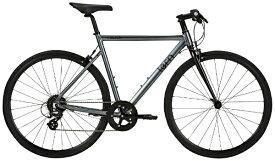 TERN ターン 650×28c クロスバイク Clutch クラッチ(マットグレー/510サイズ《適用身長:165〜175cm》8段変速) 【代金引換配送不可】