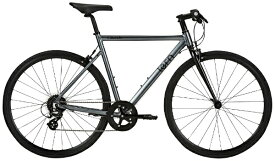 TERN ターン 700×28c クロスバイク Clutch クラッチ(マットグレー/540サイズ《適用身長:175〜180cm》8段変速) 【代金引換配送不可】