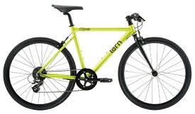 TERN ターン 650×28c クロスバイク Clutch クラッチ(イエロー/510サイズ《適用身長:165〜175cm》8段変速) 【代金引換配送不可】