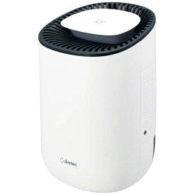 ドリテック dretec ドリテック コンパクト除湿器 JY-100WT JY-100WT ホワイト [ペルチェ方式][小型 コンパクト JY100WT]