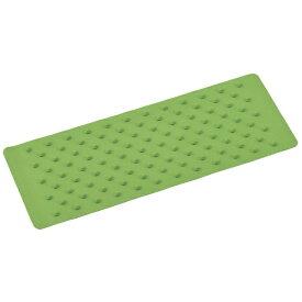 日本緑十字 JAPAN GREEN CROSS 緑十字 滑り止めシート 薄い緑(若草) 三段突起タイプ 150×400×5mm 合成ゴム製 260125
