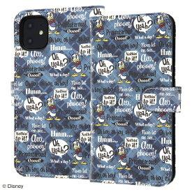 イングレム Ingrem iPhone 11 6.1インチ / 『ディズニーキャラクター』/手帳型アートケース マグネット/ドナルド_001 IN-DP21MLC2/DD001