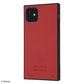 イングレム Ingrem iPhone 11 6.1インチ / 『ディズニーキャラクター』/耐衝撃オープンレザーケース KAKU/ミニー IS-DP21KOL1/MN1