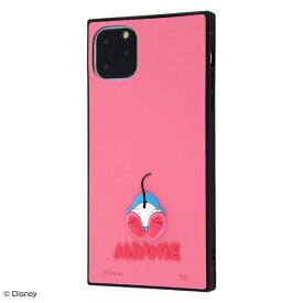 イングレム Ingrem iPhone 11 Pro Max 6.5インチ / 『ディズニーキャラクター』/耐衝撃ハイブリッドケース シリコン KAKU/『ミニー』 IS-DP22KOS1/MN1
