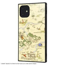 イングレム Ingrem iPhone 11 6.1インチ / 『くまのプーさん』耐衝撃ハイブリッドケース KAKU /『くまのプーさん』_33 IQ-DP21K3TB/PO012
