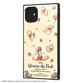 イングレム Ingrem iPhone 11 6.1インチ / 『くまのプーさん』耐衝撃ハイブリッドケース KAKU /『くまのプーさん/Perfect Day』 IQ-DP21K3TB/PO013