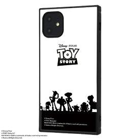 イングレム Ingrem iPhone 11 6.1インチ / 『トイ・ストーリー』耐衝撃ハイブリッドケース KAKU /『トイ・ストーリー/シルエット』 IQ-DP21K3TB/TY022