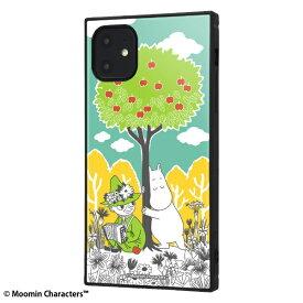 イングレム Ingrem iPhone 11 6.1インチ / ムーミン耐衝撃ハイブリッドケース KAKU /コミック_3 IQ-AP21K3TB/MT011