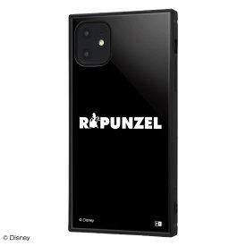 イングレム Ingrem iPhone 11 6.1インチ / ディズニーキャラクター/耐衝撃ハイブリッドケース KAKU/『ラプンツェル/S collection』 IQ-DP21K3TB/RZ004