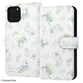 イングレム Ingrem iPhone 11 Pro 5.8インチ / 『ディズニー・ピクサーキャラクター』/手帳型アートケース マグネット/トイ・ストーリー22 IN-DP23MLC2/TY022