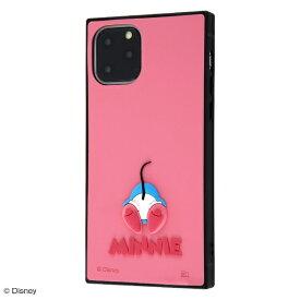 イングレム Ingrem iPhone 11 Pro 5.8インチ / 『ディズニーキャラクター』/耐衝撃ハイブリッドケース シリコン KAKU/ミニー IS-DP23KOS1/MN1