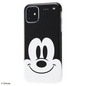 イングレム Ingrem iPhone 11 6.1インチ / 『ディズニーキャラクター』/TPUソフトケース クローズアップ/ミッキー IS-DP21H/MK