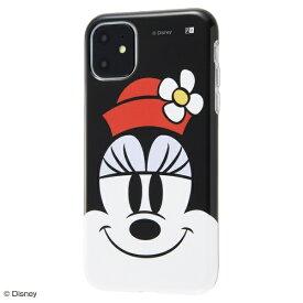 イングレム Ingrem iPhone 11 6.1インチ / 『ディズニーキャラクター』/TPUソフトケース クローズアップ/ミニー IS-DP21H/MN