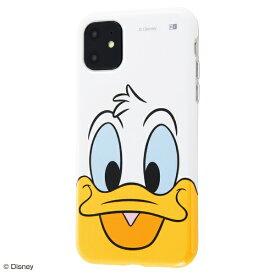 イングレム Ingrem iPhone 11 6.1インチ / 『ディズニーキャラクター』/TPUソフトケース クローズアップ/ドナルド IS-DP21H/DD