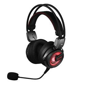 ADATA エイデータ XPG PRECOG ハイレゾゲーミングヘッドセット ブラック [φ3.5mmミニプラグ+USB /両耳 /ヘッドバンドタイプ][XPGPRECOG]