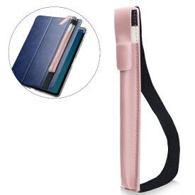 エレコム ELECOM Apple Pencil用 バンド付ソフトレザーケース M(iPad 9.7〜11インチ用) TB-APEBLMPN ピンク