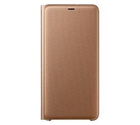 SAMSUNG サムスン 【サムスン純正】Galaxy A7用 Wallet Cover ゴールド EF-WA750PFEGJP[ケース・カバー]