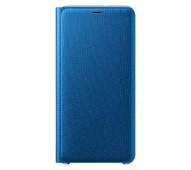 SAMSUNG サムスン 【サムスン純正】Galaxy A7用 Wallet Cover ブルー EF-WA750PLEGJP[ケース]