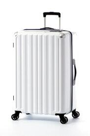 A.L.I アジア・ラゲージ スーツケース ハードキャリー 96L ホワイト ALI-6008-28 [TSAロック搭載]
