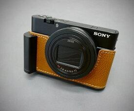 リムズ LIM'S メタルグリップ 本革 カメラハーフケース LE-MHCRX100BR1 ブラウン