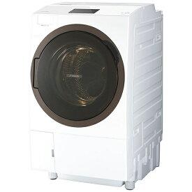 東芝 TOSHIBA TW-127X8L-W ドラム式洗濯乾燥機 ZABOON(ザブーン) グランホワイト [洗濯12.0kg /乾燥7.0kg /ヒートポンプ乾燥 /左開き][洗濯機 12kg TW127X8LW]